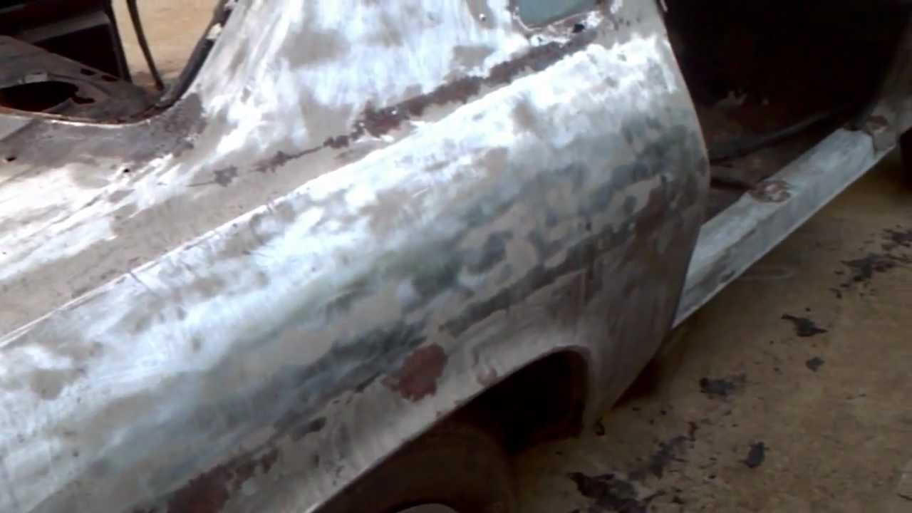 How To Strip Car Paint To Bare Metal