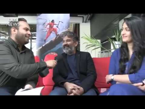 Bahubali 2  SSrajamouli & Anushka Shetty on BBC News