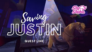 I SAVED JUSTIN!!! | Lets Play Story Quests | StarStable Online