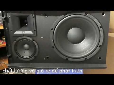 Loa JBL: Ki 510 Đẹp, Nghe Nhạc Hay, Hát Karaoke Khỏi Chê.