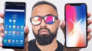 iPhone X vs Samsung Galaxy Note 8 thumbnail