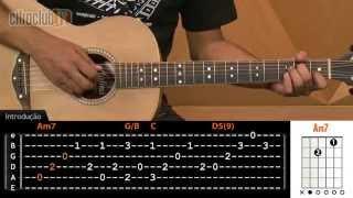 Seio de Minas - Paula Fernandes (aula de violão completa)