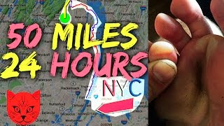 Hiking 50 MILES in 24 HOURS | ADVENTURE KATZ