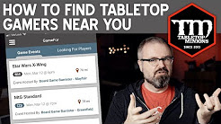 How to Find Tabletop Gamers and Events Near You