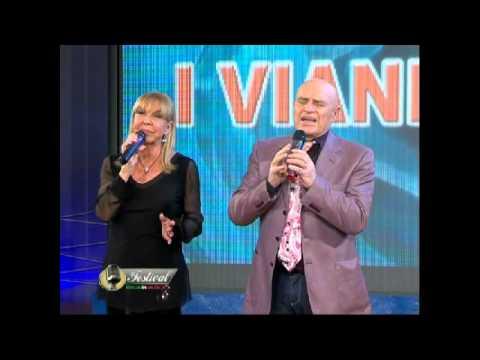 Edoardo Vianello e Wilma Goich in 'fijo mio' al Festival Italia in Musica ed  2015