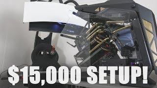 INSANE $15000 Gaming/Workstation Setup. RTX 2080 Ti, 2990WX, 4TB SSD....