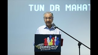 Dr M claims Pas won't be helping Umno in Semenyih