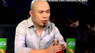 vietnams got talent 2012 - kq ban ket 7 - chia se cam xuc - huynh van sau