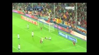 برشلونه 4-0 اشبيليه اياب كاس السوبر الاسباني