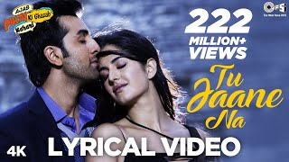 Download Tu Jaane Na - Bollywood Sing Along - Ajab Prem Ki Ghazab Kahani - Atif Aslam MP3 song and Music Video