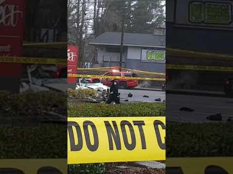 Everett 112th 80miles crash