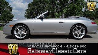 2004 Porsche 911 CARRERA Convertible,, Gateway Classic Cars Nashville#822