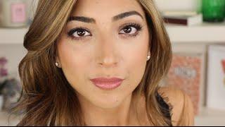 Glam Evening Makeup Tutorial - Smokey Eye & Bronzed Skin | Amelia Liana ad