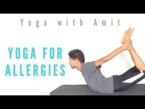 Yoga for Allergies Yoga with Amit