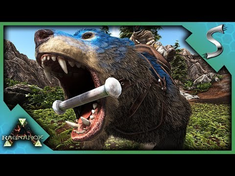 DIREBEAR TAMING & THE JOURNEY TO FIND HONEY! - Ark: RAGNAROK [DLC Gameplay S3E31]