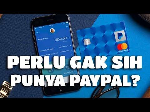 Apa Fungsi Rekening Paypal? Dan Apakah Perlu?