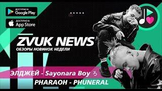 ZVUK NEWS - Обзоры PHARAOH - PHUNERAL   Элджей - Sayonara Boy ろ