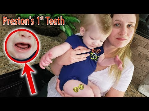 Baby's First Tooth and Preston Gets 4 Shots!! Keeping the Giant Bug as a Pet!!!
