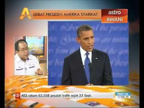 Debat Presiden Amerika Syarikat - Agenda Awani (PART 1)