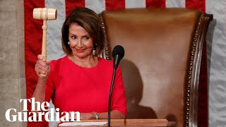 'Transparency will be the order of the day': Nancy Pelosi elected House speaker