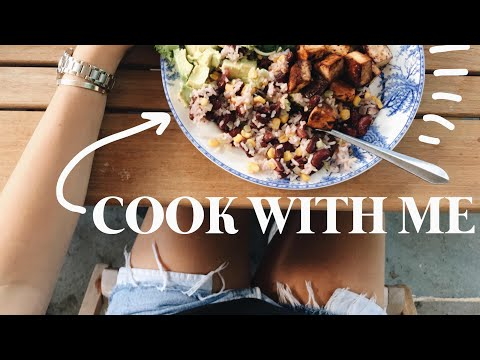 COOK WITH ME! Southern Blackened Tofu Dinner Dish ft. Green Chef