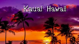Kauai, Hawaii, Waimea Canyon, Na Pali Coast, waterfalls, beaches