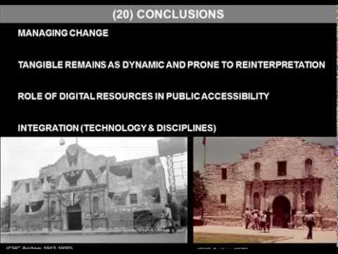 Technology, Preservation Education, and Managing Change in the Alamo