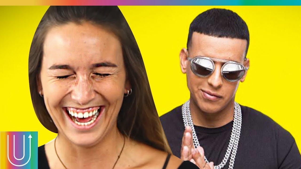 Gente Reacciona A Letras De Reggaeton Youtube