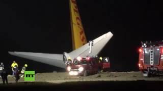 Beinahe-Katastrophe: Flugzeug bei Landung fast ins Meer gestürzt