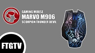 [ Gaming Gear ] Marvo M906 Thunder Devil Gaming Mouse