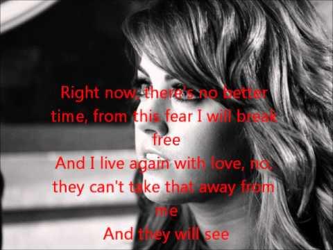 Angie Miller-I Surrender-American Idol 12[Lyrics]