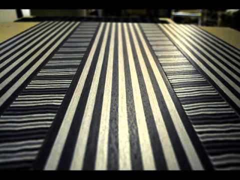 Wood Carpet - Tappeti in legno - Falegnameria Morosi - YouTube