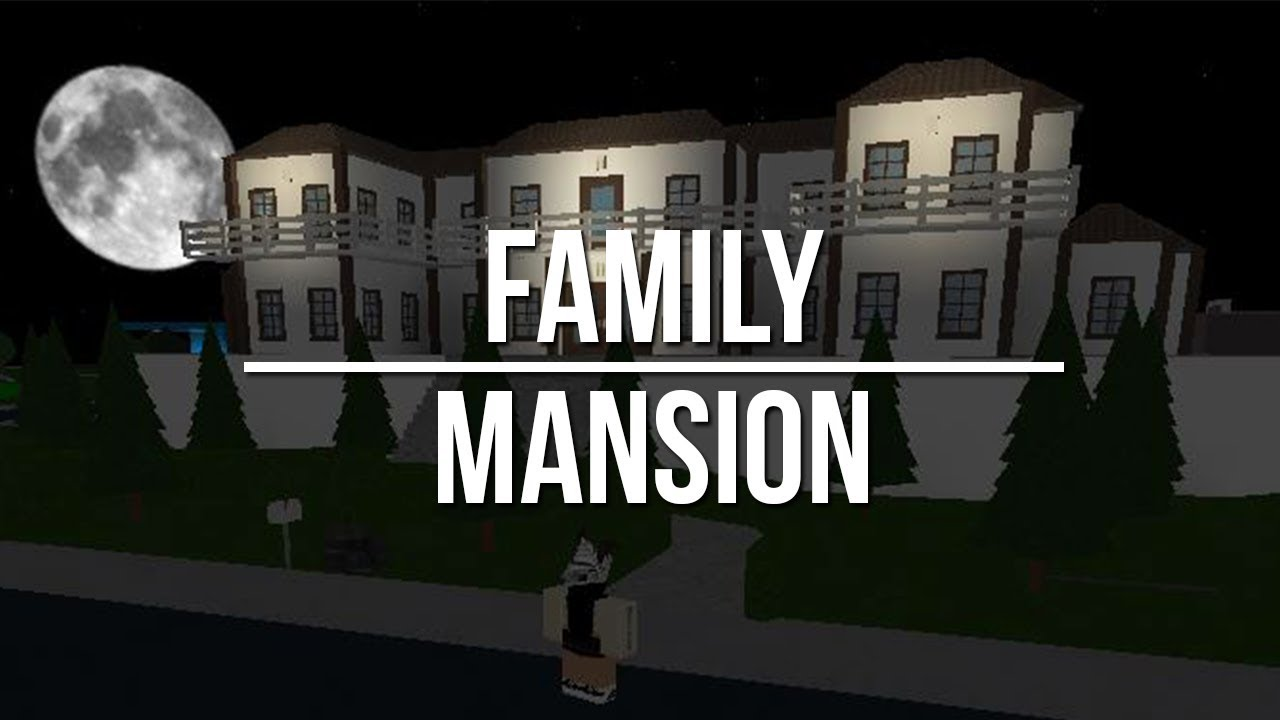 Roblox welcome to bloxburg family mansion youtube for Kitchen designs bloxburg