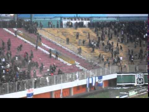 PSS Sleman vs PSIM Jogja (Std.Maguwoharjo, 29 April 2014) - bagian Rusuh