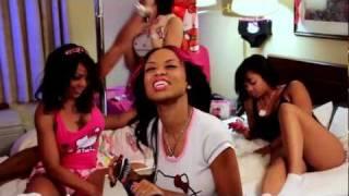 AMAZING OAKLAND FEMALE RAPPER BANGIN MS DOMOJ - WEARING ALL PINK