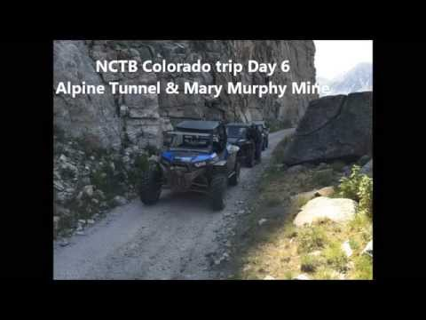 NCTB Taylor Park Colorado Day 6 Alpine Tunnel & Mary Murphy Mine Trails In The Polaris RZR