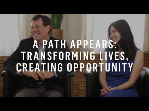 Nicholas Kristof & Sheryl WuDunn: A Path Appears w/ Marie Forleo