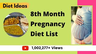 8th Month Pregnancy Diet | Which Foods to Eat | Your YouTube Mom