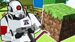 Minecraft Meets Garry's Mod (Custom Modded Minigame) - MURDER MYSTERY TROUBLE IN TERRORIST TOWN TTT!
