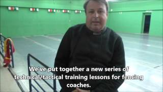 Introduction to new fencing coaches video tutorial series.(Presentation of our new video series for sabre coaches hosted by Maestro Raul Peinador, director of the Spanish Fencing Coaches Academy in Madrid, Spain., 2016-01-28T17:23:22.000Z)