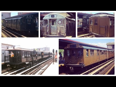 Sights and Sounds: New York Transit Museum's 40th Anniversary Event - Parade of Trains