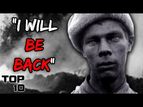 Top 10 Haunting Last Words Heard By Soldiers - Part 2