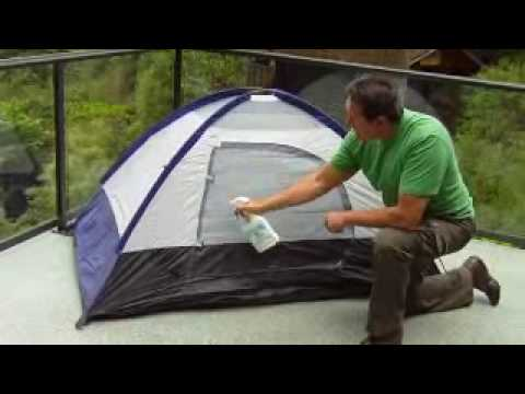 & Waterproof your tent with Dry Guy Waterproofing Spray - YouTube
