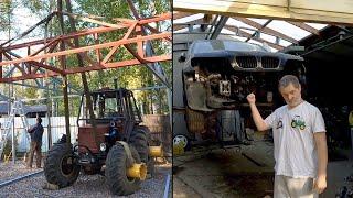 Ставим стрелу на Турбо-трактор! Когда Лаура, и что случилось с BMW X5?