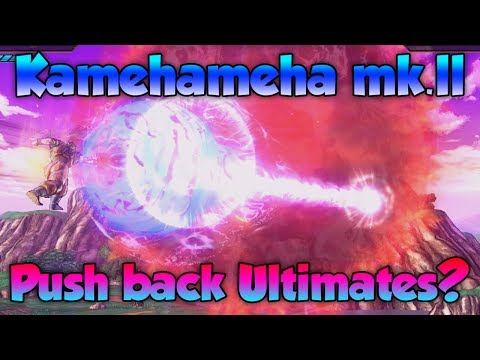 Which Ultimates can One Handed Kamehameha MK.2 Push Back? - Dragon Ball Xenoverse 2