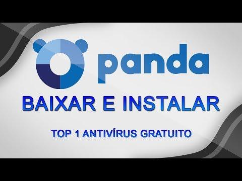 Como BAIXAR, INSTALAR e CONFIGURAR o Panda Free Antivírus 2018 - O melhor Antivírus GRATUITO!