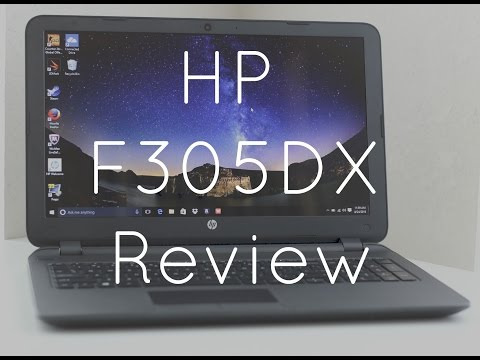 HP F305dx 15.6″ Budget laptop review