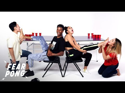 Couple vs. Couple (Shawn & Cloe vs. Josh & Sandia) | Fear Pong | Cut
