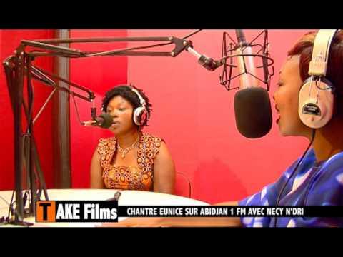 CHANTRE EUNICE A ABIDJAN 1 FM AVEC NECY
