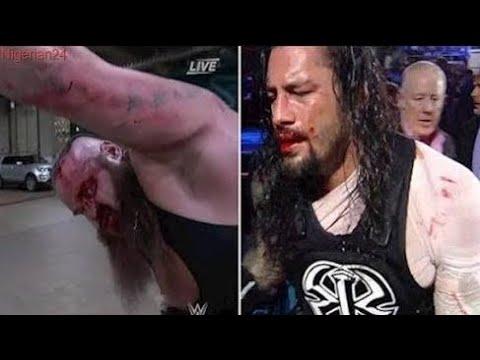 Romen Reings vs Broun Strowman 2017 WWE Rivalry
